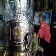 Подстаканник «Орден Победы» + чайная ложечка