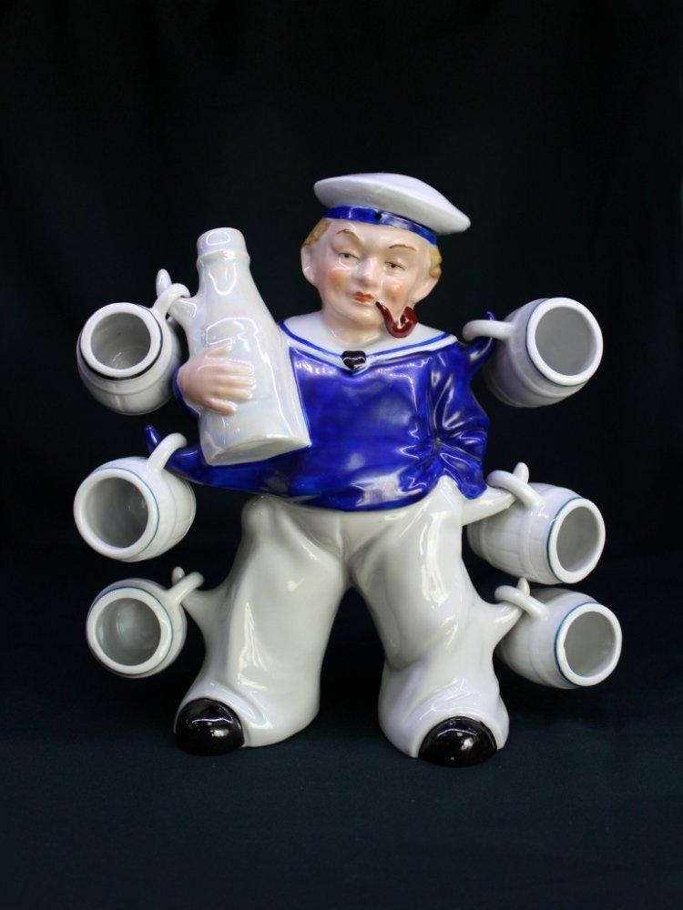 Бутылка-штоф «Моряк»