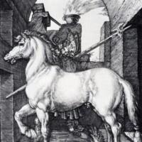 """Альбрехт Дюрер """"Маленькая лошадь"""""""