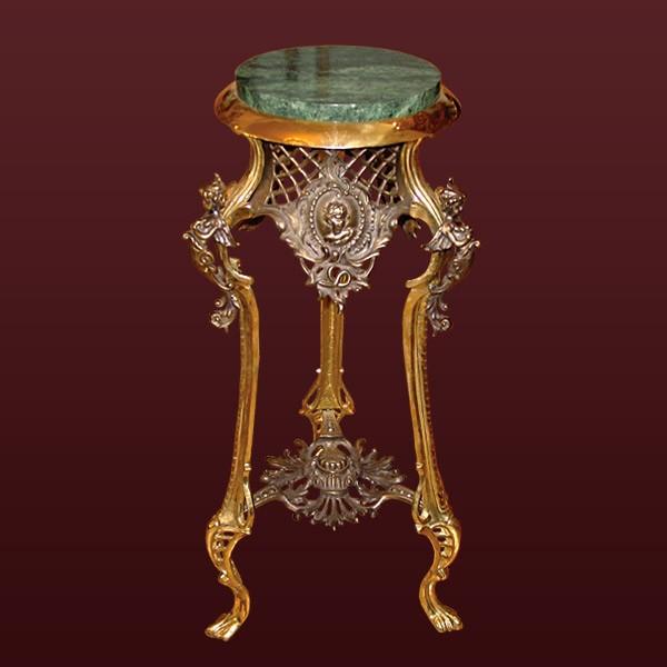 Столик «Чайный» с каменной столешницей