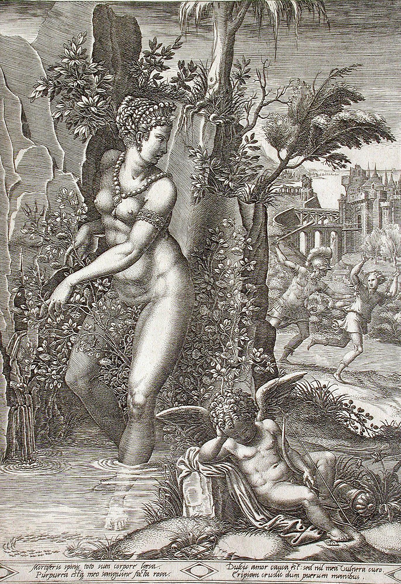 """Джоджио Гизи """"Венера в кустах роз"""""""