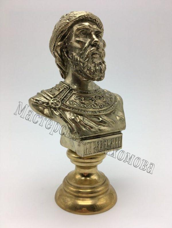 бюст из бронзы князь владимир