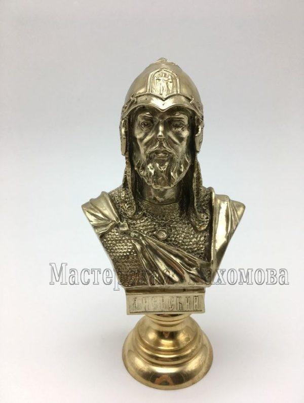 бронзовый бюст Александра Невского